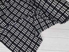 Интерлок, Черно-белая клетка - фото 7711