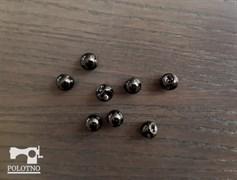 Пуговица сфера, черный