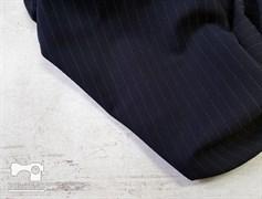 Костюмно-плательная ткань, ОРЛАНДО стрейч, цвет -ТЕМНО-СИНИЙ