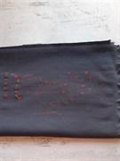 футер 3-х нитка петля черный