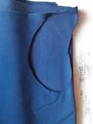 футер 3-х нитка начес синий