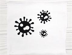Вирус черный - 5см - фото 9076