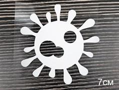 Вирус белый - 7см - фото 9102