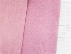 Кашкорсе плотное, розовый меланж - фото 9340