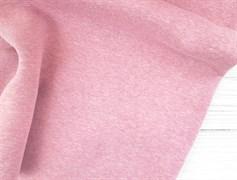 Футер 3 нитка с начесом, Розовый Меланж - фото 9365