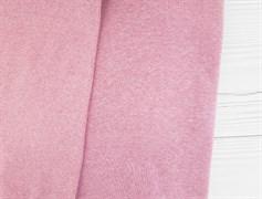 Футер 3 нитка с начесом, Розовый Меланж - фото 9366