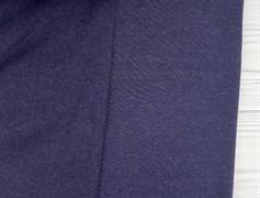 Футер 3 нитка с начесом, Темно-синий меланж - фото 9386