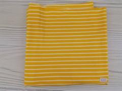 Белая полоска на желтом