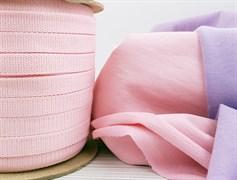 Шнур 1,2см - Светло-розовый