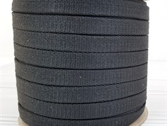 Шнур 1,2см - Темно-серый - фото 9835